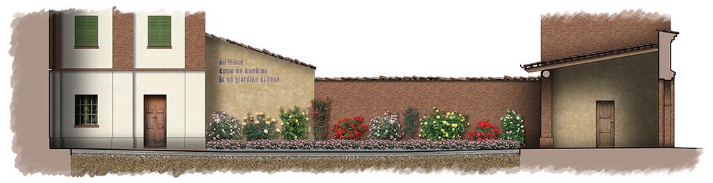 Progetto della nuova piazza dedicata a Mirco Mosso in Cerreto (AT)